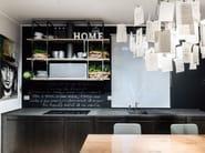 Cucina in basalto e acciaio ossidato D90 | Cucina in basalto - TM Italia Cucine