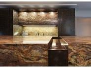 Hideaway kitchen D90 | Quartzite kitchen - TM Italia Cucine