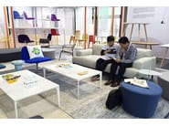 Contemporary style modular rectangular aluminium coffee table DADA | Coffee table - Grado Design Furnitures