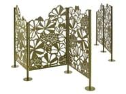 Powder coated steel garden partition DAGGKÅPA - Nola Industrier