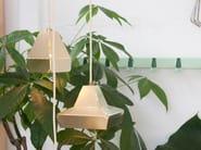 Lampada a sospensione in ottone DASHED LIGHT IN BRASS - DL 10 - Vij5