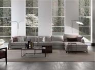 Sectional upholstered fabric sofa DAVIS CLASS | Fabric sofa - FRIGERIO POLTRONE E DIVANI