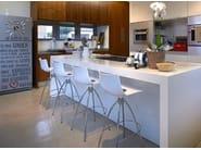 Low polycarbonate stool DAYLIGHT - SCAB DESIGN