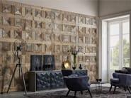 Indoor reclaimed wood wall tiles DB004145 | Wall tiles - Dialma Brown