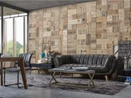 Indoor reclaimed wood wall tiles DB004147 | Wall tiles - Dialma Brown