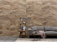 Indoor wooden wall tiles DB004150 | Wall tiles - Dialma Brown