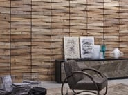 Indoor reclaimed wood wall tiles DB004156 | Wall tiles - Dialma Brown