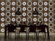 Indoor reclaimed wood wall tiles DB004161 | Wall tiles - Dialma Brown
