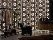Indoor reclaimed wood wall tiles DB004164   Wall tiles - Dialma Brown