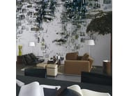 Contemporary style wallpaper DECODIFICAZIONE 1 - Inkiostro Bianco