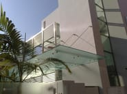Satin glass porch DECORFLOU® CLASSIC - OmniDecor®