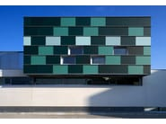 Stained glass Structural glass facade DECORGEM® - OmniDecor®