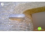 Stamped wall DECOWALL® - Stone International