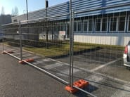 Temporary fencing system DEFENDER HD - NUOVA DEFIM