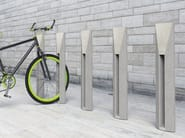 Fiber cement Bicycle rack DENEB P - Metalco