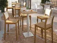 Counter stool with footrest DESERT | Counter stool - Atmosphera