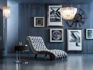 Tufted fabric lounge chair DESIRE VELVET - KARE-DESIGN