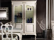 Lacquered solid wood display cabinet DESIREE | Display cabinet - Arvestyle