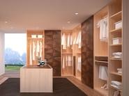 Corner wooden walk-in wardrobe ORIGINAL LIFESTYLE | Walk-in wardrobe - Carpanelli Contemporary