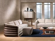 Leather sofa divano desyo - Carpanelli Contemporary