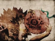 Fiberglass textile wallpaper DH-01 - MOMENTI di Bagnai Matteo