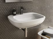 Ceramic washbasin DIAL | Wall-mounted washbasin - Hidra Ceramica