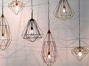 Metal pendant lamp DIAMOND S - Pols Potten