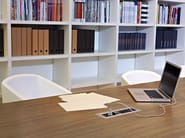 Rectangular meeting table DIAMOND MEETING - Sinetica Industries