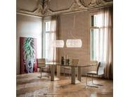 Rectangular crystal table DIAPASON | Table - Cattelan Italia