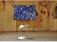 Polyurethane stool DINAMICA - 308 - Alias