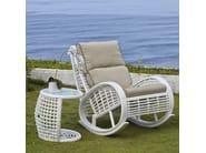 Poltrona da giardino imbottita con braccioli DINASTY 22858 - SKYLINE design