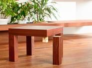 Tavolino quadrato in legno DISEGNODILEGNO | Tavolino - FIEMME 3000 by D.K.Z.