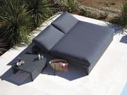 Double recliner aluminium garden bed DNA | Garden bed - GANDIA BLASCO