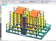Finite element (FEM) structural resolver DOLMEN FEM E 3D - CDM DOLMEN