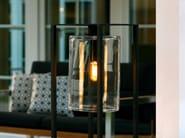 Powder coated aluminium Floor lamp DOME MOVE - ROYAL BOTANIA