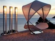 Powder coated aluminium Floor lamp DOME FLOOR - ROYAL BOTANIA