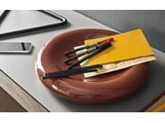 Ceramic pin tray DONUT - Calligaris