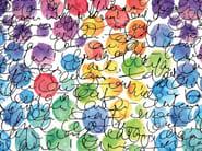 Motif nonwoven wallpaper DOODLE - MyCollection.it