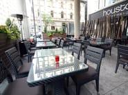 Tavolo da giardino da pranzo quadrato DORIC | Tavolo da giardino - 7OCEANS DESIGNS