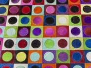 Rectangular rug with geometric shapes DOTTY PRIL MULTI - KARE-DESIGN