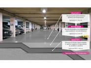 Resin wall/floor tiles DRACOFLOOR LD | Resin continuous flooring - DRACO ITALIANA