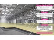 Resin continuous flooring / industrial flooring DRACOFLOOR MD | Resin continuous flooring - DRACO ITALIANA