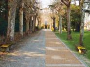 Pavimentazione decorativa per esterni 100% permeabile DRENATECH® - Drenatech®