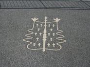 Drenatech® - Dettaglio logo terrazzo Hotel Camogli