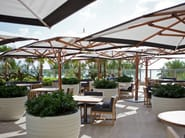 Offset double Garden umbrella PLANTATION MAX DUAL CANTILEVER - TUUCI