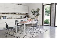 Extending rectangular dining table DUCA - Calligaris