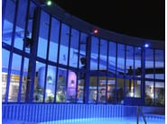 LED adjustable Outdoor floodlight DUEVENTI - Arcluce