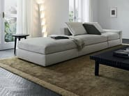 Fabric sofa with removable cover DUNE | Fabric sofa - Poliform
