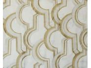 Fabric with graphic pattern DUOMO - Aldeco, Interior Fabrics