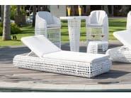 Lettino da giardino reclinabile in polipropilene DYNASTY 22850 - SKYLINE design